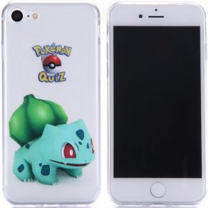 Telefoonhoesje.nl iPhone 7 / 8, Gel hoesje, Pokemon go Bulbasaur - Geschikt voor: Apple iPhone 7