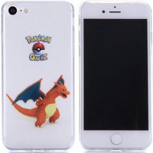 Telefoonhoesje.nl iPhone 7 / 8, Gel hoesje, Pokemon go Charizard - Geschikt voor: Apple iPhone 7