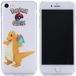Telefoonhoesje.nl iPhone 7 / 8, Gel hoesje, Pokemon go Dragonite - Geschikt voor: Apple iPhone 7