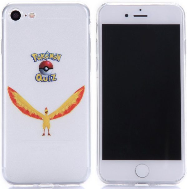 Telefoonhoesje.nl iPhone 7 / 8, Gel hoesje, Pokemon go Moltres - Geschikt voor: Apple iPhone 7
