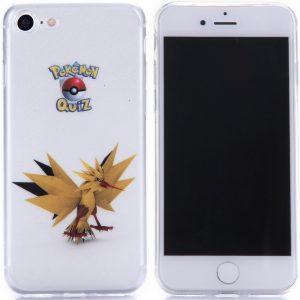 Telefoonhoesje.nl iPhone 7 / 8, Gel hoesje, Pokemon go Zapdos - Geschikt voor: Apple iPhone 7