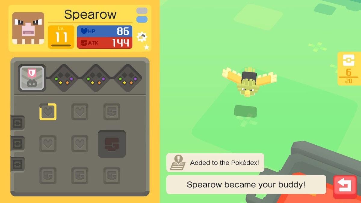 glimmende pokemon quest