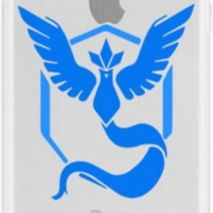 iPhone 5 / 5s/ SE hoesje met Pokemon Go team Mystic afbeelding, de rage op dit moment!, motief , merk i12Cover