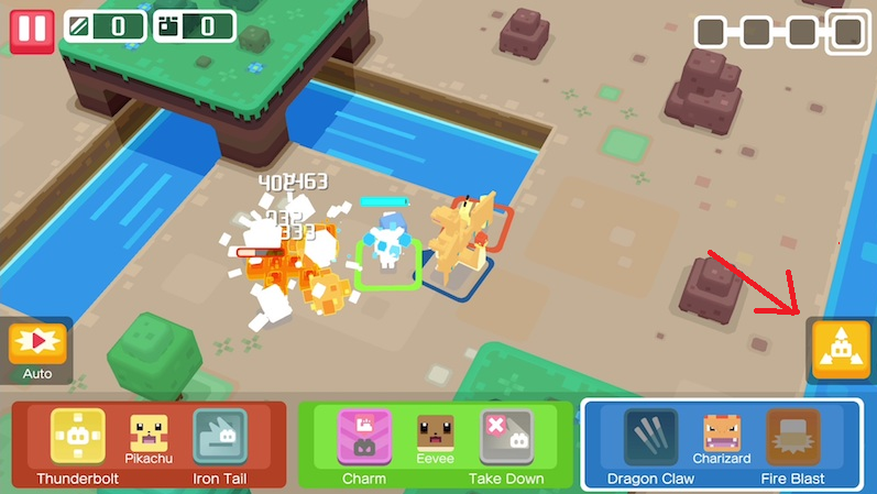 pokemon quest verdedigen