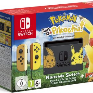 Nintendo Switch Console - Pokémon Let's Go, Pikachu! Bundel