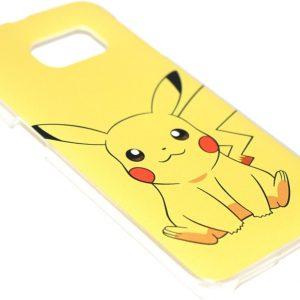 Pikachu Pokemon hoesje Samsung Galaxy S6 Edge