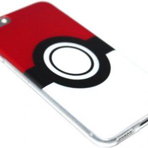 Pokemon Pokeball siliconen hoesje iPhone 6 (S) Plus