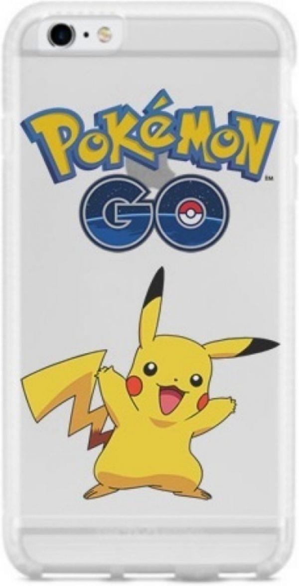 iPhone 5 / 5S / SE hoesje met Pokemon Go en Pikachu afbeelding, de rage op dit moment!, motief , merk i12Cover