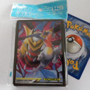 64 Japanse Pokemon TCG sleeves, kaart hoesjes Giratina Garchomp