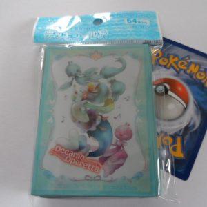 64 Japanse Pokemon TCG sleeves, kaart hoesjes Oceanic Operetta Primarina