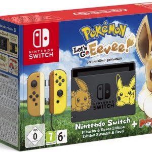 Nintendo Switch Console - Pokémon Let's Go, Eevee! Bundel
