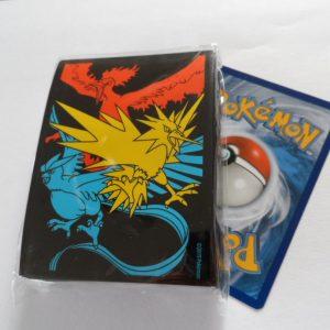 Hidden Fates Pokemon card sleeves / kaart hoesjes Articuno, Moltres en Zapdos