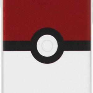 ADEL Siliconen Back Cover Softcase Hoesje voor iPhone 8/ 7 - Pokemon Pokeball