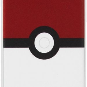 ADEL Siliconen Back Cover Softcase Hoesje voor iPhone XS Max - Pokemon Pokeball