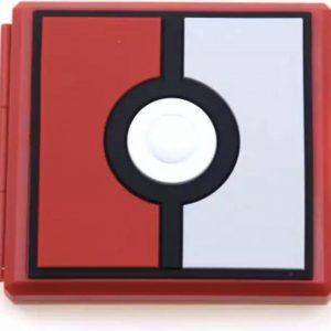 Nintendo switch - Game card case - spel hoesje - opbergen spelletjes - opslag case - 12 plaatsen voor 12 Nintendo games - pokemon ball