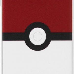 ADEL Siliconen Back Cover Softcase Hoesje voor iPhone SE (2020)/ 8/ 7 - Pokemon Pokeball