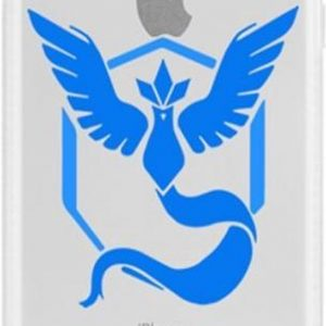 iPhone 5 / 5s/ SE hoesje met Pokemon Go team Mystic afbeelding, de rage op dit moment!
