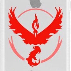 iPhone 5 / 5s/ SE hoesje met Pokemon Go team Valor afbeelding, de rage op dit moment!