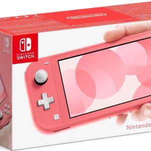 Nintendo Switch Lite Console - Coral
