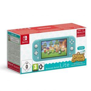 Nintendo Switch Lite Console - Turkoois + Animal Crossing: New Horizons + 3 maanden gratis Nintendo Switch online