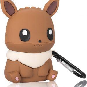 AirPods Hoesje - Pokemon Eevee - AirPods 1/2 - Smartphonica