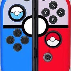 Gadgetpoint | Nintendo Switch & Lite | Siliconen Joy-Con Controller Hoesjes | Grip | Pokemon