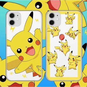 2 verschillende siliconen hoesjes Iphone 11 Pokemon Pikachu
